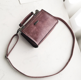 Structured  Sling Satchel