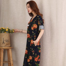 Floral Print Dress (4 Colors)