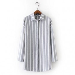 LM+ Long Stripe Shirt