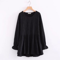 LM+ Babydoll Blouse