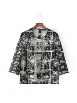 Embroidery Motif Top
