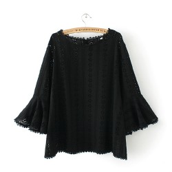 LM+ Flare Blouse
