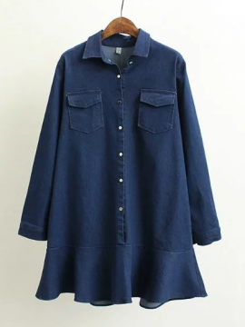 LM+ Denim Tunic