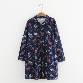 LM+ Floral Tunic
