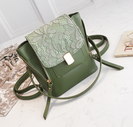 Lace Detail Mini Backpack