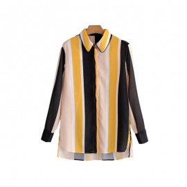 Geometric Stripe Shirt