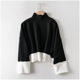 Slouchy Colorblock Sweater