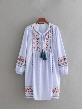 Embroidery Detail Tunic