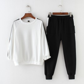 LM+ Top and Pants Set