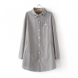 LM+Cat Detail Shirt (3 Color)