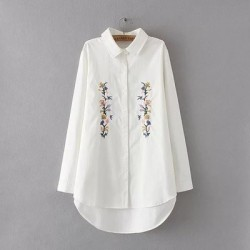 LM+ Floral Embroidery Shirt (3 Color)