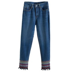 Tribal Inspired Jeans