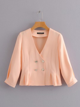 Crop V-Neck Cardigan