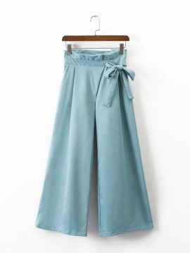 Pants with Bow Detail