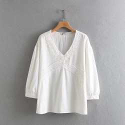 Lace Detailed Blouse