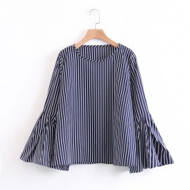 Flare Stripe Top