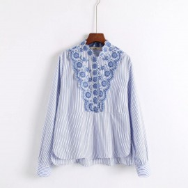 Crotchet Detail Blouse