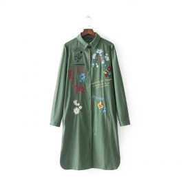 Long Graffiti Coat