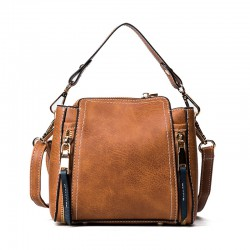Sling Bag with Zipper Detail