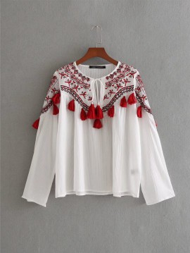 Tribal Inspired Blouse
