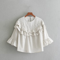 Blouse with Applique
