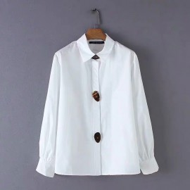 Shell Button Shirt