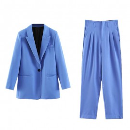 Classic Blazer and Pants Set