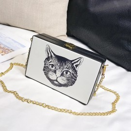 Cat Printed Bag