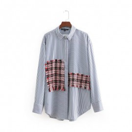 Combination Patch Shirt