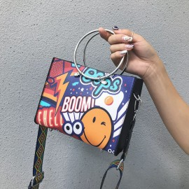 Graffiti Sling Satchel
