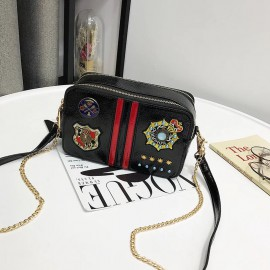 Sling Bag with Badge