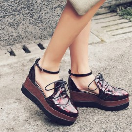 Oxford Inspired Wedges