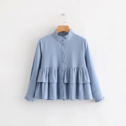 Babydoll Tiered Blouse