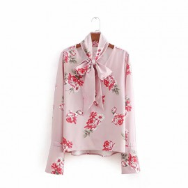 Flower Scarf Top