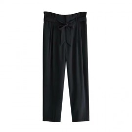 Ruched Waist Pants