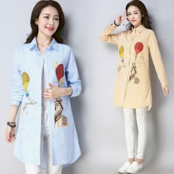 MIRA Motif Shirt (Yellow)