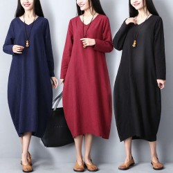 MIRA Basic Dress (Red)