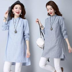 MIRA Tunic Blouse (Dark)