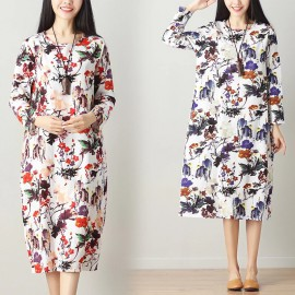 MIRA Floral Dress (Red)