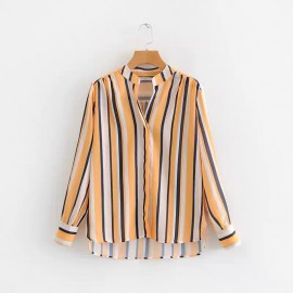 Stripe Motif Shirt