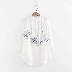 LM+ Embroidery Motif Shirt