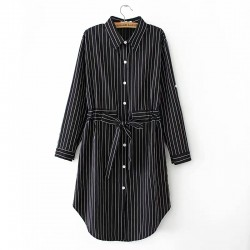 LM+ Stripe Tunic Dress