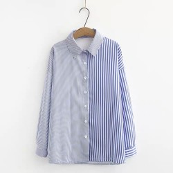 LM+ Mix Stripe Shirt