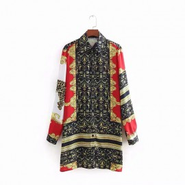 Reflection Motif Tunic