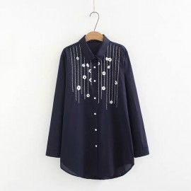 LM+ Embroidery Shirt