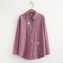 LM+ Embroidered Shirt
