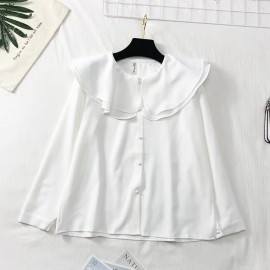 Pan Collar Top