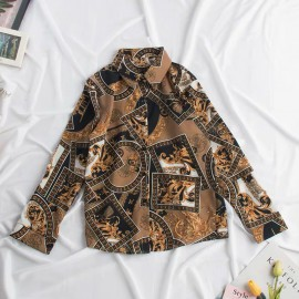 Antique Motif Shirt