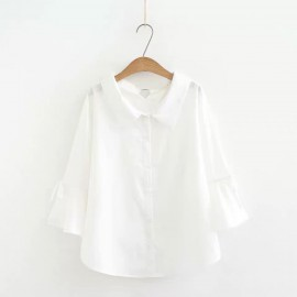 LM+ Flare Sleeve Blouse