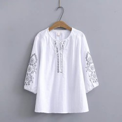 LM+ Embroidery Top